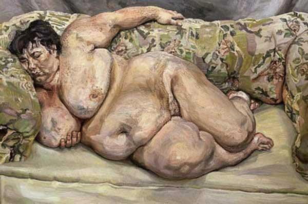 Картины художника Люсьена Фрейда