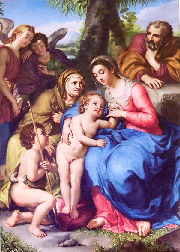 The archangel gabriel, anton raphael mengs, oil painting, paintings, canvas art, reproductions, art, fine art