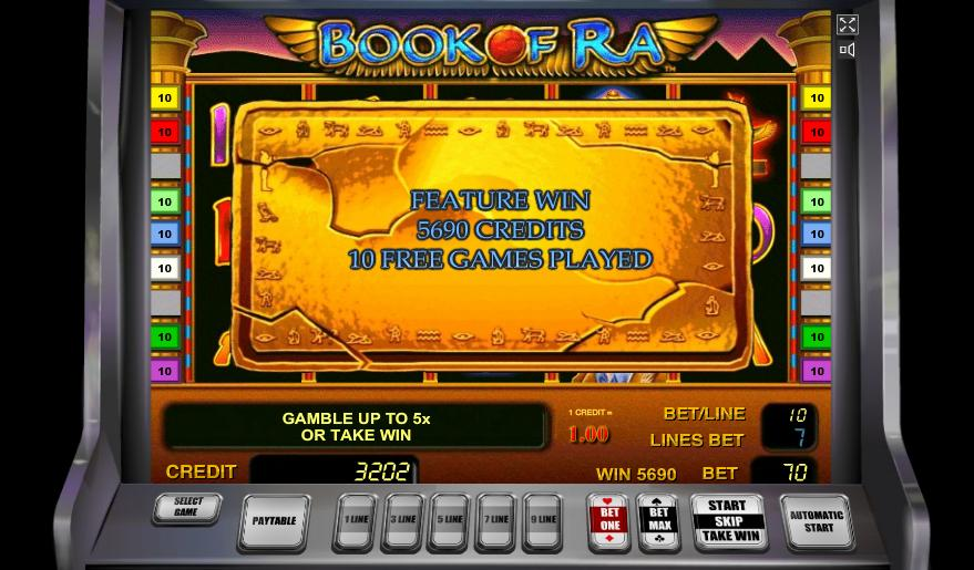 Picture of video poker royal flush