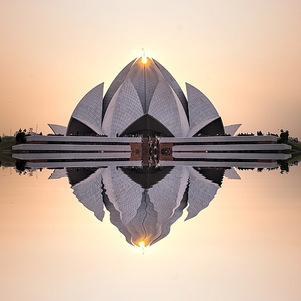 Lotus Temple, Delhi: Bringing out sharpness in architectural photos can really make them pop. © Pete DeMarco